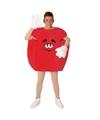 Rood snoep kostuum volwassenen