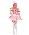 Cupcake kostuum voor dames roze