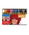 12 schmink krijtjes diverse kleuren