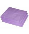 Lila paarse lunch servetten 25 stuks