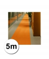 5 meter oranje lopers 1 meter breed