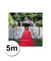 5 meter rode lopers 1 meter breed