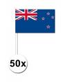 50 zaaivlaggetjes Nieuw Zeeland