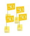 Cocktailprikkers 50 jaar goud