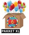 6 jaar feestartikelen pakket XL