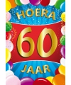 Mega poster 60 jaar versiering