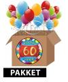 60 jaar feestartikelen pakket