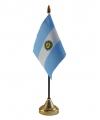 Argentinie vlaggetje met standaard