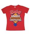 Grappig shirt Baby under construction dames