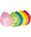 Ballonnetjes verjaardag 8 stuks