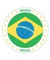 Brazilie thema bierviltjes
