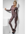 Bodysuit met luipaard print