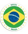 Ronde Brazilie sticker
