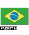 Brazilie versiering pakket