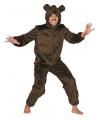 Berenpak voor volwassenen bruin