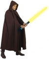Bruine cape voor volwassenen