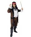 Heren verkleedkleding piraten jas