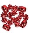 Kadolint en strikjes rood 16-delig