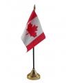 Canada vlaggetje met standaard