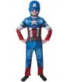 Compleet Captain America kostuum for kids