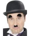 Chaplin snor en wenkbrouwen