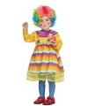 Clown jurkje verkleedkostuumvoor peuters