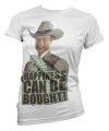 Merchandise Dallas wit dames shirt