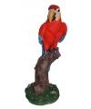 Rode decoratie papegaai 32 cm
