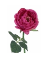 Deluxe kunst roos rood 33 cm
