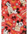 Mickey en Minnie Mouse geschenkpapier