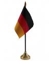 Duitsland vlaggetje met standaard