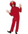 Sesamstraat Elmo kostuum