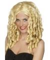 Blonde filmsterren pruik
