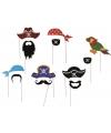 Photo booth prop accessoires piraat