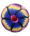 Flower power chunk met bloem 1,8 cm