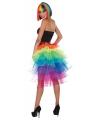 Regenboog tutu voor dames