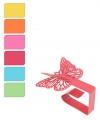 Tafelkleedklem van ijzer set van 4 vlinders