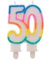 Taartkaars 50 jaar
