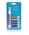 Glitter pennen licht 5 stuks
