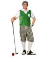 Golfer verkleedkleding