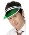 Zonneklep groen Pokerman