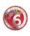 6 jaar helium ballon