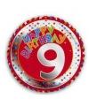 9 jaar helium ballon