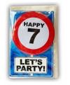 Verjaardagskaart 7 jaar