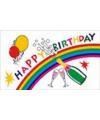 Happy Birthday vlaggen