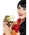 Hawaii feest beker met bloem