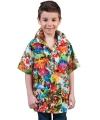Hawaii feestkleding shirt kinderen