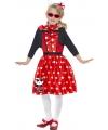 Verkleedkleding Hello Kitty rood