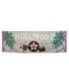 Feest spandoek Hollywood vlag 74 x 220 cm