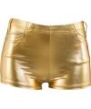 Gouden hotpants voor dames